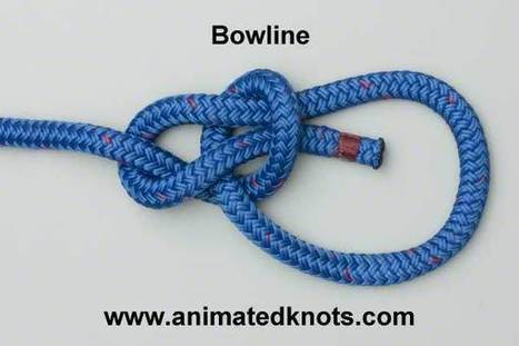 How to tie a Bowline Knot (animated) | Self Bondage Magazine | Scoop.it