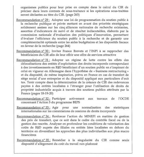 Article offert : Crédit d'impôt recherche: le rapport que le Sénat a enterré   Mediapart   Research and Higher Education in Europe and the world   Scoop.it