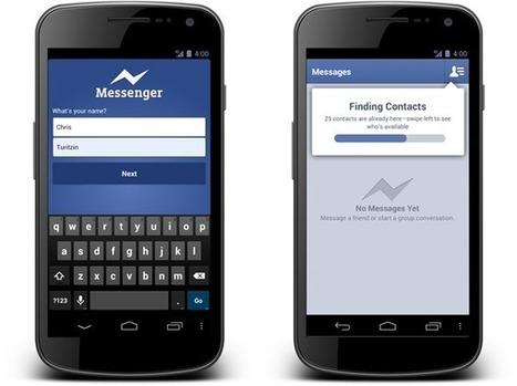 Facebook Messenger ya se puede utilizar sin necesidad de tener una cuenta en Facebook, ¿amenaza a WhatsApp? | Impacto de la tecnologia | Scoop.it