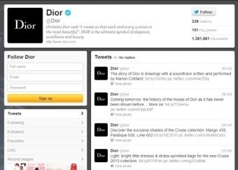 Dior, Burberry go head-to-head in social domination: report - Luxury Daily - Internet | Digital Fashion Marketing | Scoop.it