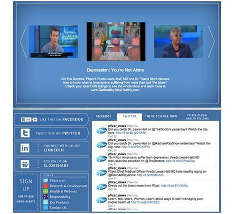 Pharma gets social: YouTube for pharma global communications | pharma digital marketing mix | Scoop.it