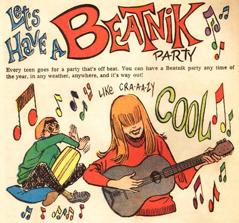 Cool for Sale, From Beatnik Bongos to Hipster Specs | A Cultural History of Advertising | Scoop.it