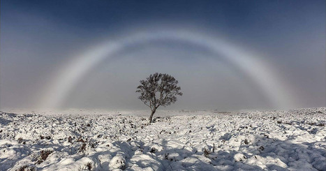 Photographer Snaps Stunning Shot of a 'White Rainbow' | Backpack Filmmaker | Scoop.it
