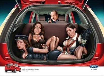 "Controversial Ford advert featuring Silvio Berlusconi | Corporate ""Social"" Responsibility – #CSR #Sustainability #SocioEconomic #Community #Brands #Environment 