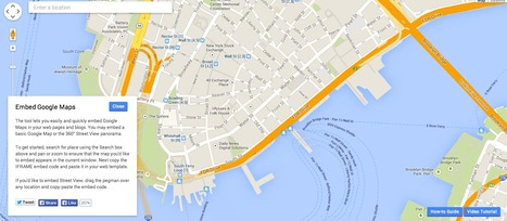 Embed Google Maps - Supports Street View and New Google Maps | @AraujoFredy | Scoop.it