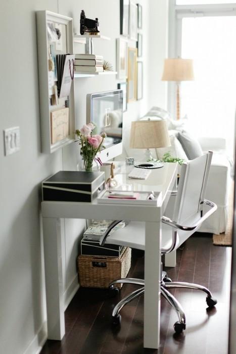 Le petit bureau féminin de Danielle Moss   Immobilier   Scoop.it