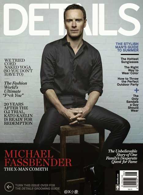 Michael Fassbender in copertina a DETAILS agosto 2014 - JHP by Jimi Paradise™ | FASHION & LIFESTYLE! | Scoop.it