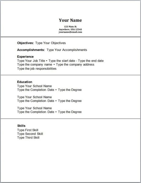 Sample Resume Accounting No Work Experience In Job Resume Samples