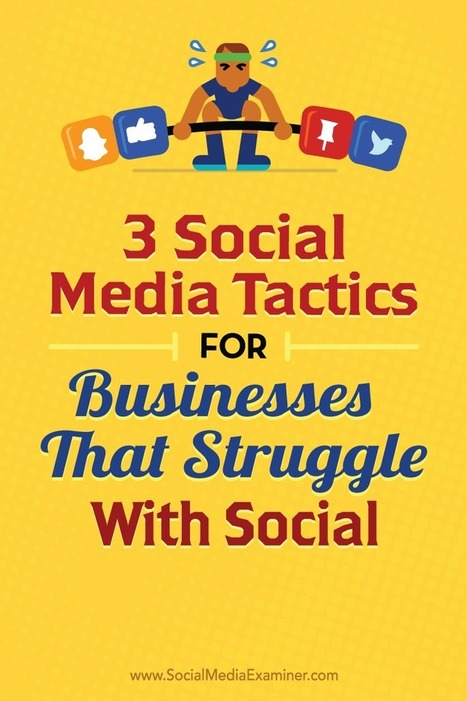 3 Social Media Tactics for Businesses That Struggle With Social : Social Media Examiner | Social Media and Digital Publishing | Scoop.it