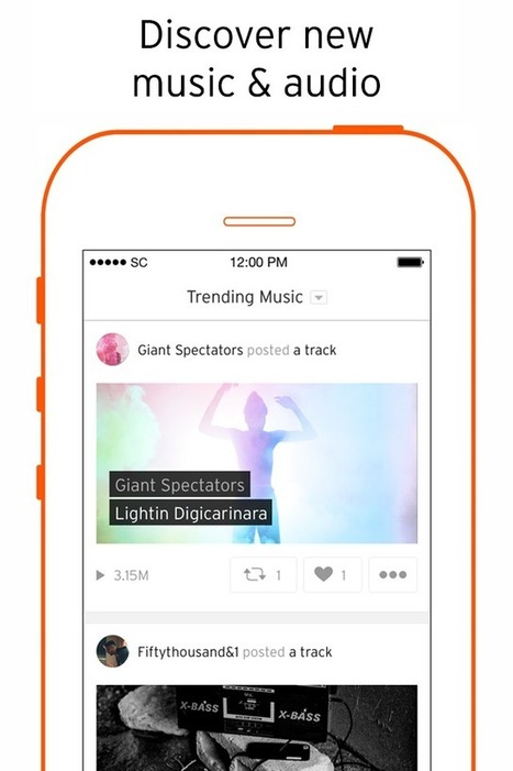 Soundcloud launches streaming service in the UK taking on Spotify | iPhones and iThings | Scoop.it