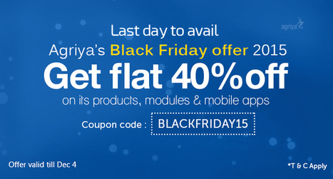 Last Day to Avail Agriya's Exclusive Black Friday Offer 2015 | Technology and Marketing | Scoop.it