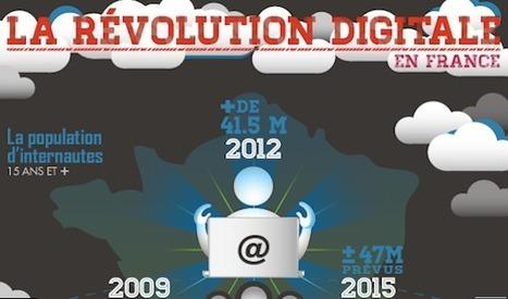 [Infographie] La révolution digitale française est mobile ! - FrenchWeb.fr | conseils web | Scoop.it