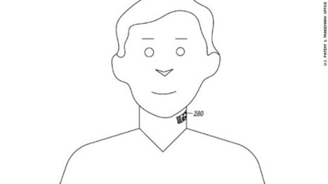 Google patenting an electronic 'throat tattoo' | It's Show Prep for Radio | Scoop.it