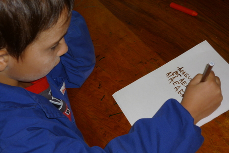 """What does """"writing"""" in the early years really mean? First reflections on """"Already Ready""""   """"Already Ready"""" Writing in the early yearls   Scoop.it"""