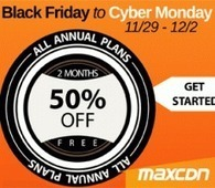 MaxCDN Black Friday 2013 Deal: 50% Discount On All Plans | Blogging Cage | Scoop.it