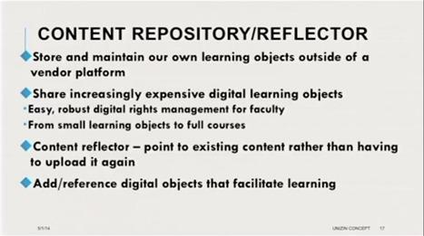 "Unizin: Indiana University's Secret New ""Learning Ecosystem"" Coalition - e-Literate | EduTech - technology | Scoop.it"
