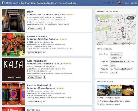 Facebook Graph Search : êtes-vous prêts ? | digitalcuration | Scoop.it