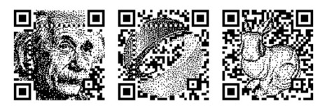 Halftone QR Codes | artcode | Scoop.it
