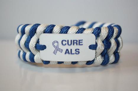 ALS Awareness Bracelet By: Best Paracord Straps | #ALS AWARENESS #LouGehrigsDisease #PARKINSONS | Scoop.it