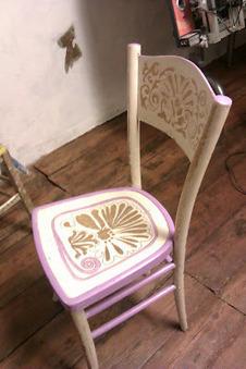 Rinnovare delle vecchie sedie con il colore f - Biopiscina fai da te ...