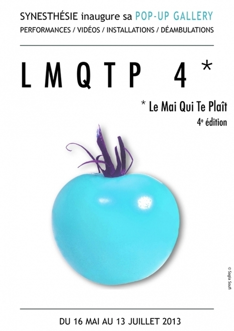 Synesthésie : exposition LMQTP 4* dans une Pop-up gallery | Pralines | Scoop.it