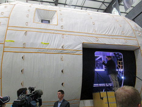 Step Inside the Inflatable Space Station | Space matters | Scoop.it