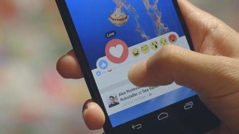 Sur Facebook, de nouveaux boutons pour dire la colère, la tristesse et l'amour   Toulouse networks   Scoop.it