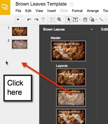 Creating Presentation Templates in Google Slides | education technology | Scoop.it