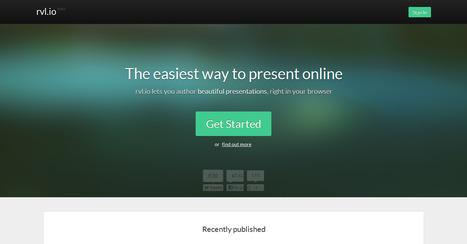 Reveal, crea atractivas presentaciones online fácilmente   #IPhoneando   Scoop.it