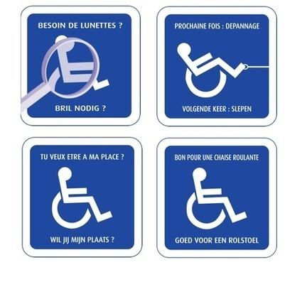 Parking handicap : des autocollants contre les inciviques ... | Aidants familiaux | Scoop.it