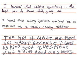 Teaching Student to Ask Their Own Questions | Lifelong Learning | Scoop.it