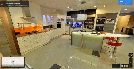 visite virtuelle du restaurant paul germain a. Black Bedroom Furniture Sets. Home Design Ideas