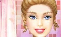 Barbie Saç Boyama Oyunu Barbie Oyunlar
