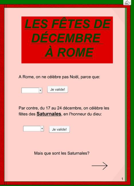 Les fêtes de décembre à Rome. | Salvete discipuli | Scoop.it