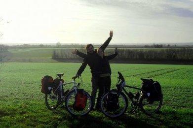 Ils vont traverser les Amériques à vélo | RoBot cyclotourisme | Scoop.it