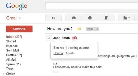 Comment empêcher quelqu'un de savoir si vous avez lu son email ? | Time to Learn | Scoop.it