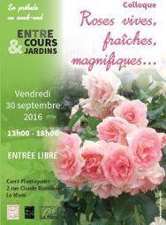 Colloque: Roses vives, fraîches, magnifiques... - Société Nationale d'Horticulture de France | HORTICULTURE BOTANIQUE | Scoop.it