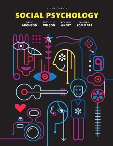 Social Psychology Aronson 9th edition pdf Downl