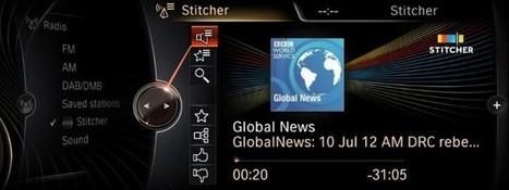 Newest Personalized Radio App for BMW and MINI: Stitcher Smart Radio | Radio 2.0 (En & Fr) | Scoop.it