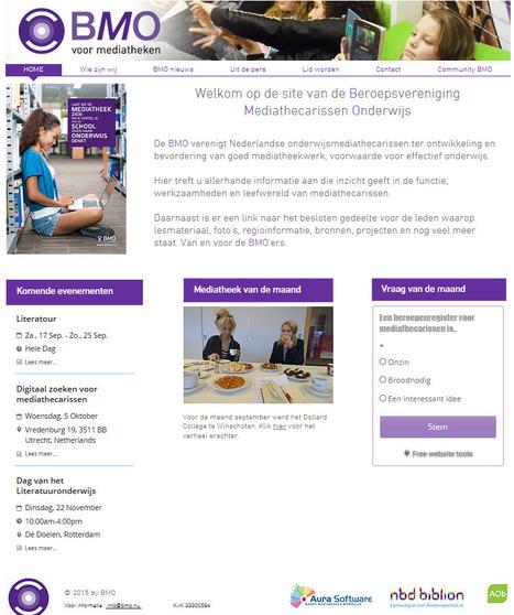 Denieuwe BMO site | Schoolmediatheken | Scoop.it