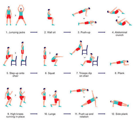 The Scientific 7-Minute Workout   Wellness and Mindfulness   Scoop.it