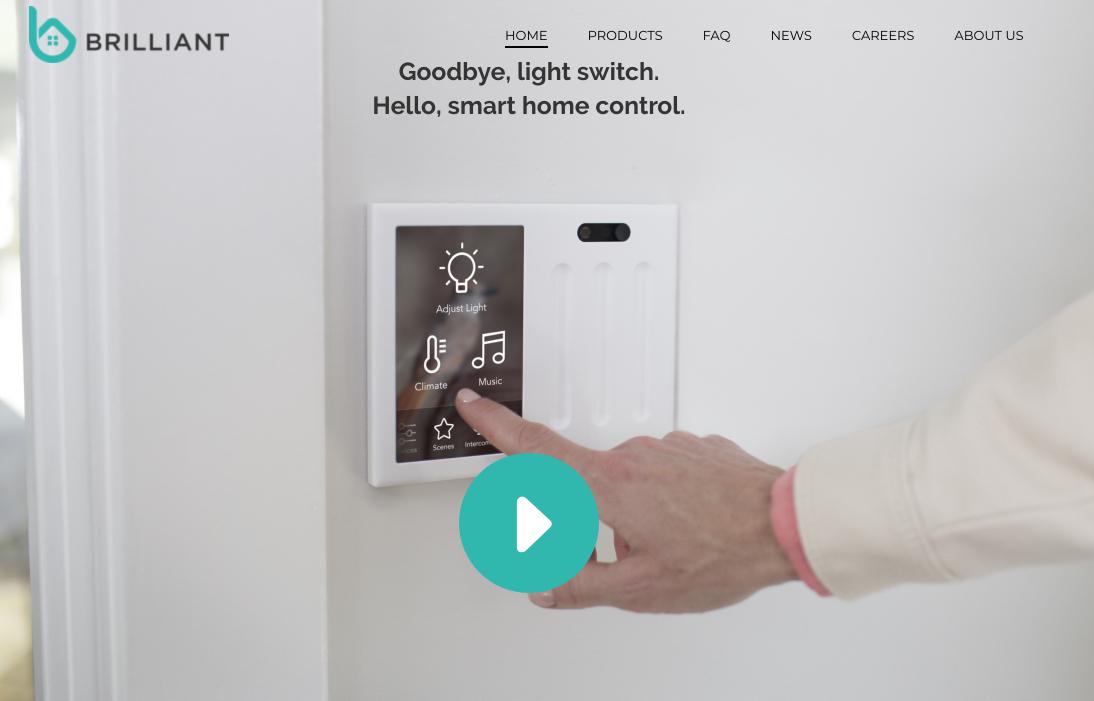 Brilliant - The World's Smartest Light Switch  