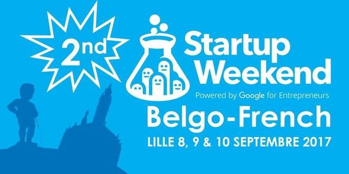 #Belgique #France Go pour le Startup Weekend Belgo-French of Lille, du 9 au 11 sept