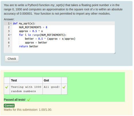 Coderunner in moodle best lms scoop moodle plugins coderunner fandeluxe Gallery