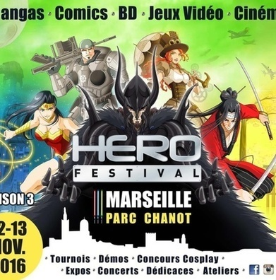 #Culture #Geek : #HEROFESTIVAL AFFICHE LA COULEUR DE LA SAISON 3 !‏ - Cotentin webradio actu,jeux video,info médias,la webradio electro ! | cotentin webradio Buzz,peoples,news ! | Scoop.it