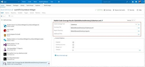 Testing a Team Services extension and tracking code coverage | Visual Studio ALM | Scoop.it