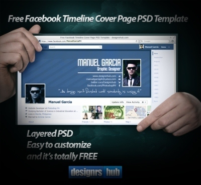 Facebook Timeline Template: 20 Free Facebook Covers | Search Engine Marketing Trends | Scoop.it