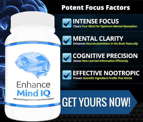 Enhance mind iq pill