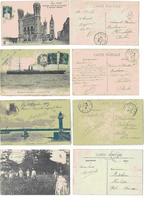 cartes postales 1913 - Le blog de karineandco.over-blog.fr | K Vidal | Scoop.it