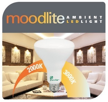 greenlite debuts moodlite dimmable led light bulb